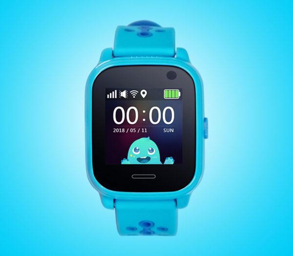 Kids tracker watch in blue