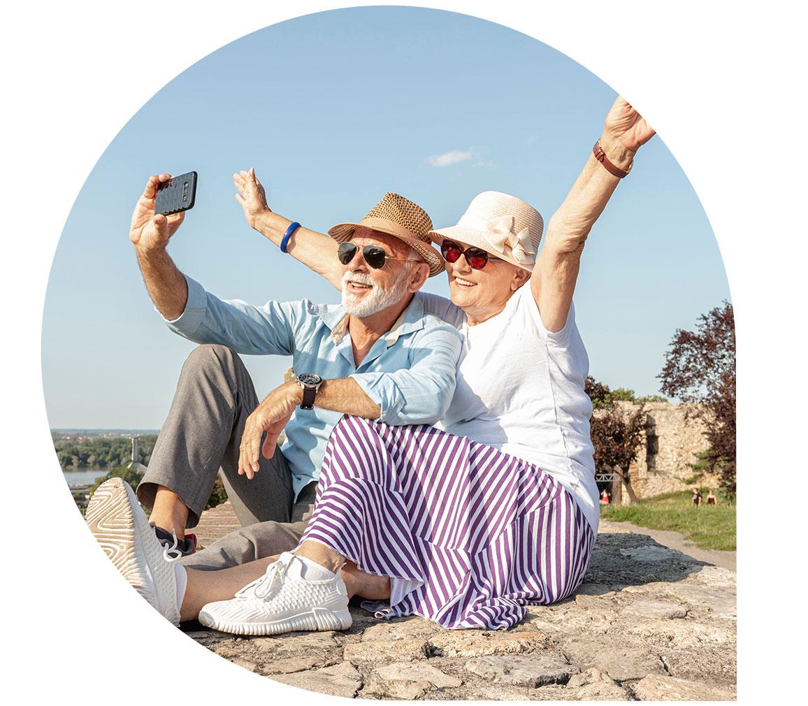 GPS tracker for elderly